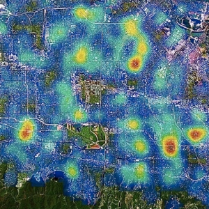 Predictive Map of Crime Patterns
