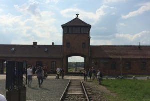 The gates of Birkenau